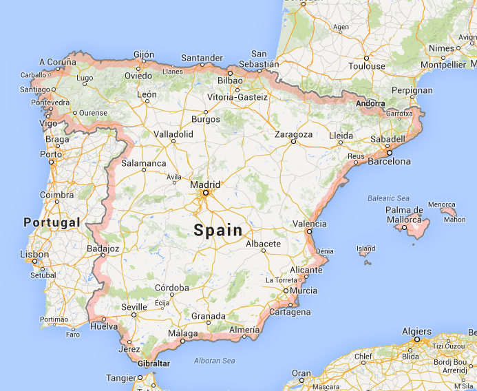 Spain Screenshot