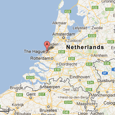The Hague map