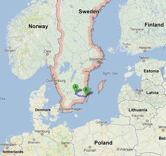Programs Brochure Office Of Study Abroad - Sweden map location